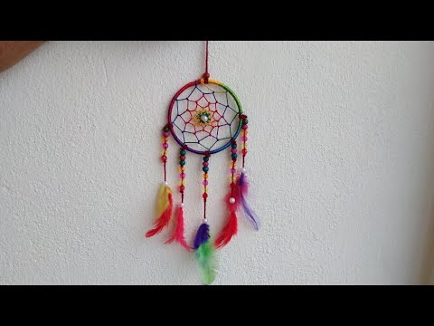 diy-dream-catcher-tutorial-|-wall-hanging|-how-to-make-dream-catcher||cc-111