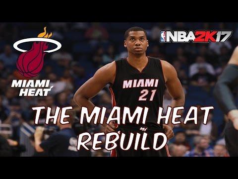 NBA 2K17 My League - Rebuilding The Miami Heat! Hassan Whiteside is a beast!