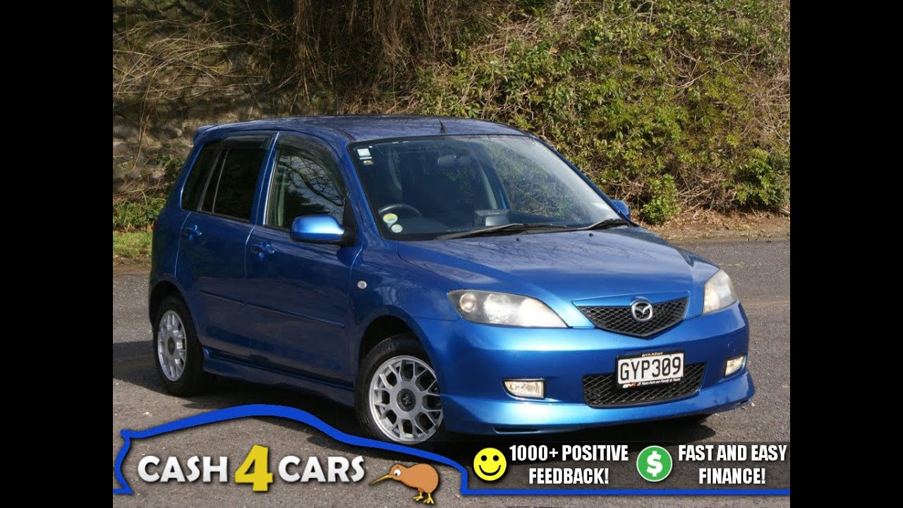 2005 mazda demio mazda2 sport easy finance cash4cars cash4cars sold youtube. Black Bedroom Furniture Sets. Home Design Ideas