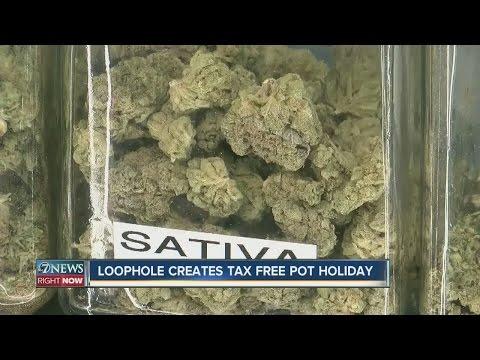 Loophole creates tax-free pot holiday