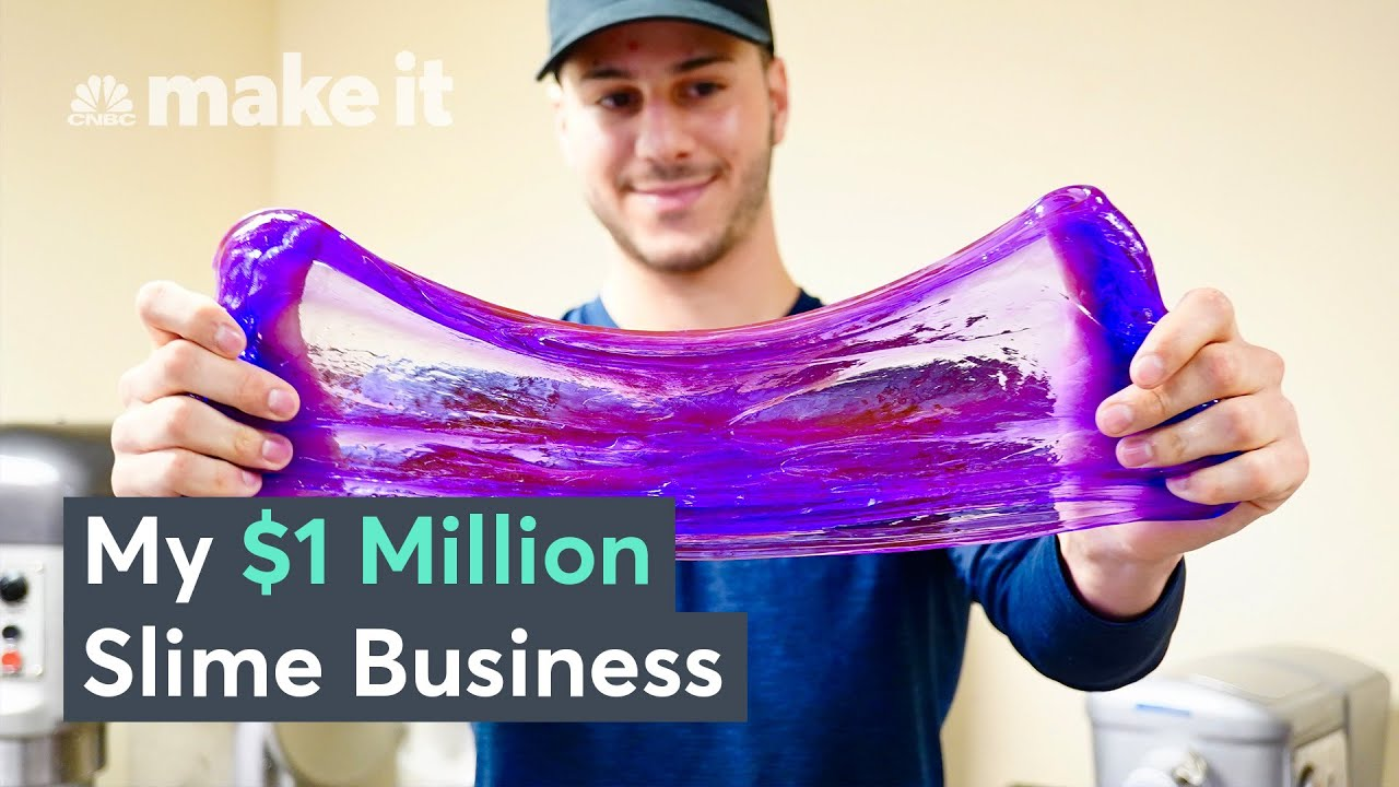 How I Built A $1 Million Business Making Slime | On The Side