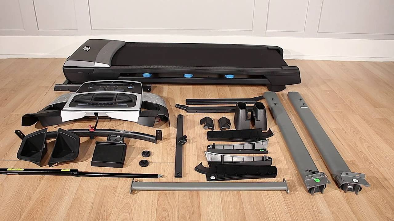 Assembly - NordicTrack Treadmill (Model 25046)