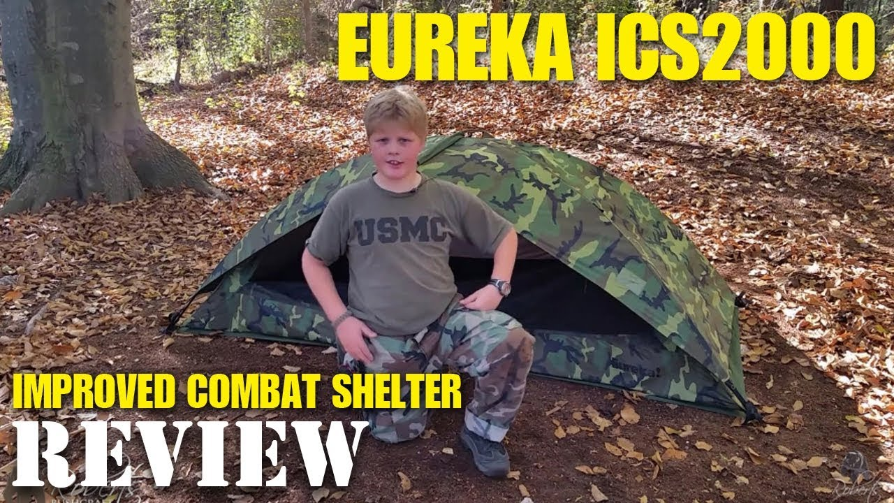 Eureka ICS 2000 USMC one man tent setup rainfly and ground sheet : eureka tent footprint - memphite.com