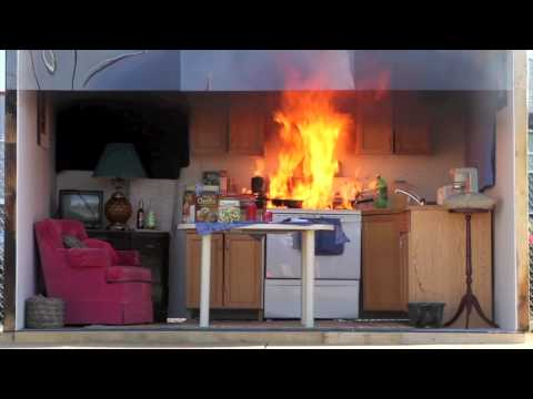 How To Put Out And Prevent A Kitchen Fire Doovi