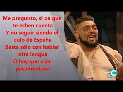 """Pasodoble de Los Mafiosos """"De ver (Andalucía)"""" Letra, lyrics y karaoke"""