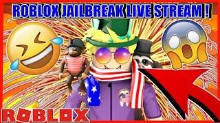 ROBLOX JAILBREAK NOUVEAU ROBBERY UPDATE?!   SAFES GRATUIT À SUBSCRIBER-GOAL! Roblox Jailbreak en direct!