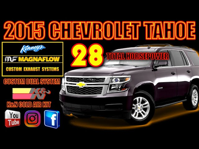 2015 chevrolet tahoe magnaflow true