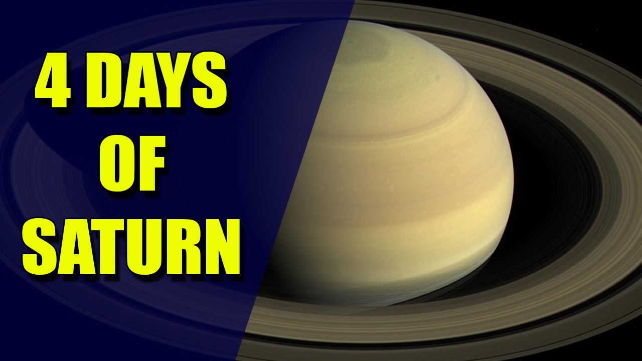 What Cassini Saw – Incredible 4K Video of the planet Saturn
