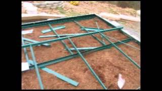 Juliana Greenhouse Part 2 - Framing