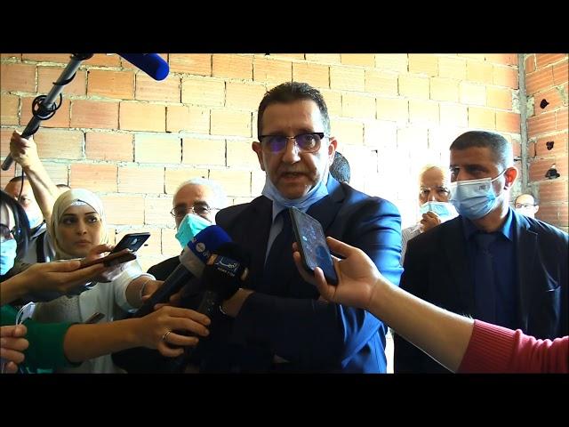 تصريح السيد الوزير،  خلال زيارته لمقر بنك الموارد الوراثية النباتية.