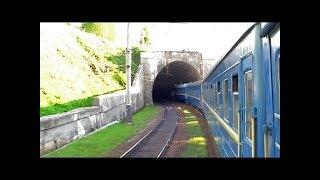 Под стук колес поезда едем в Закарпатье