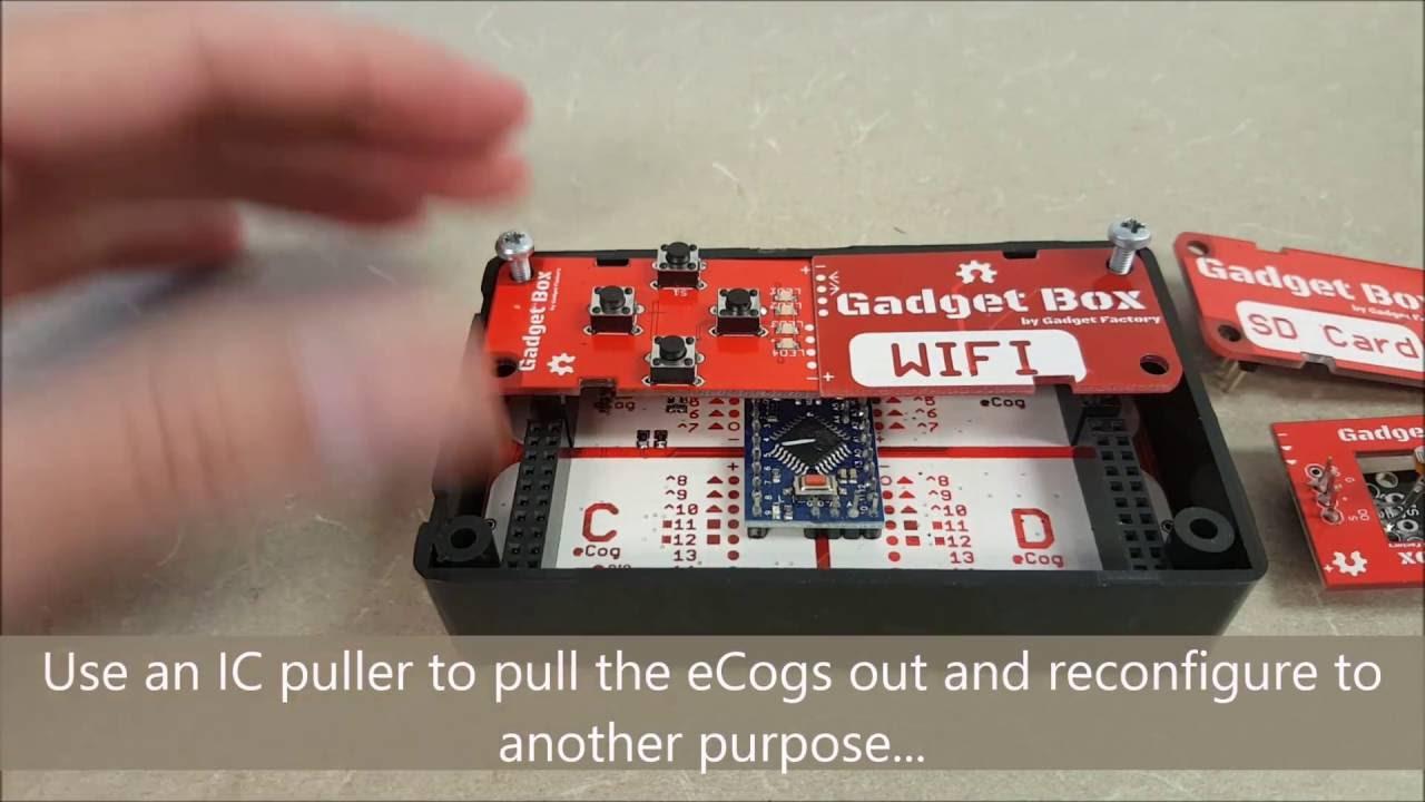 GadgetBox - Arduino Pro Mini (Clone) - Enclosure and Universal IoT Hardware