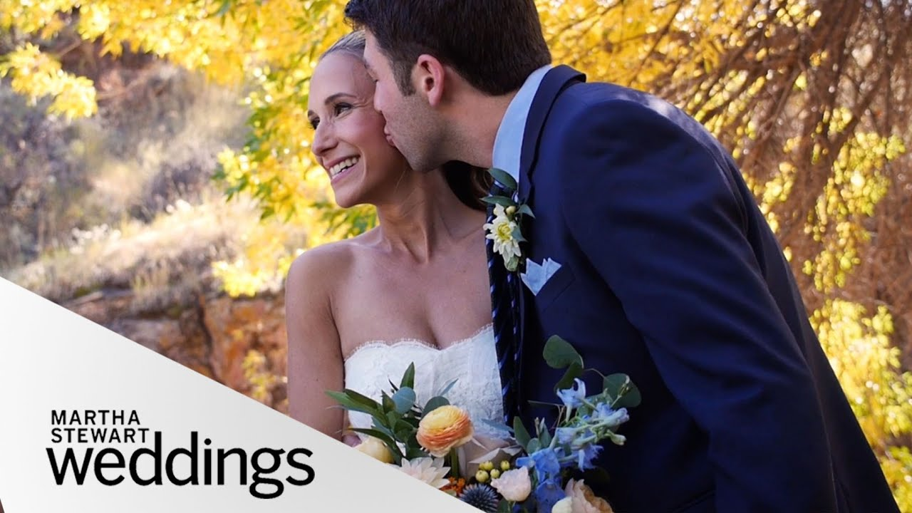 Real Weddings Youtube: Lana And Danny's Colorado Real Wedding