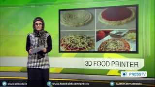 World's First Commercial 3D Food Printer Invented In Spain