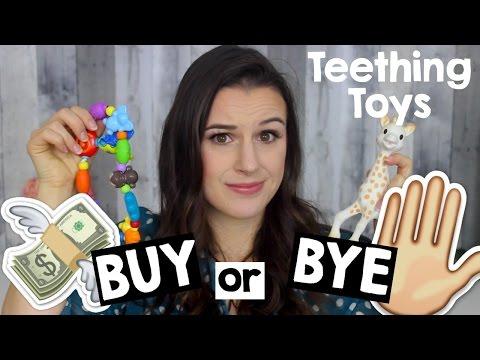 TEETHING TOYS BUY or BYE | Best Baby Teething Toys + GIVEAWAY [CLOSED]