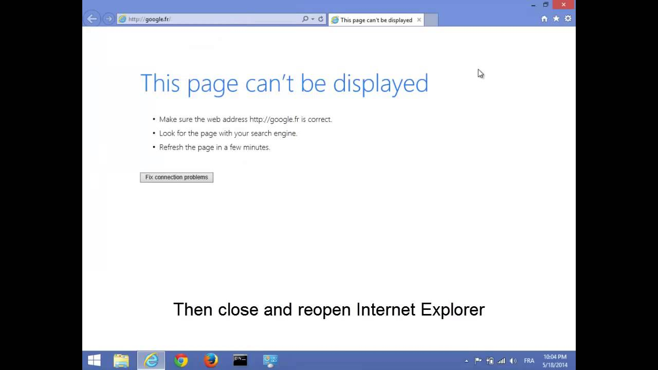 This Page Can\u0027t Be Displayed. Solution N°4 (NEW) - YouTube