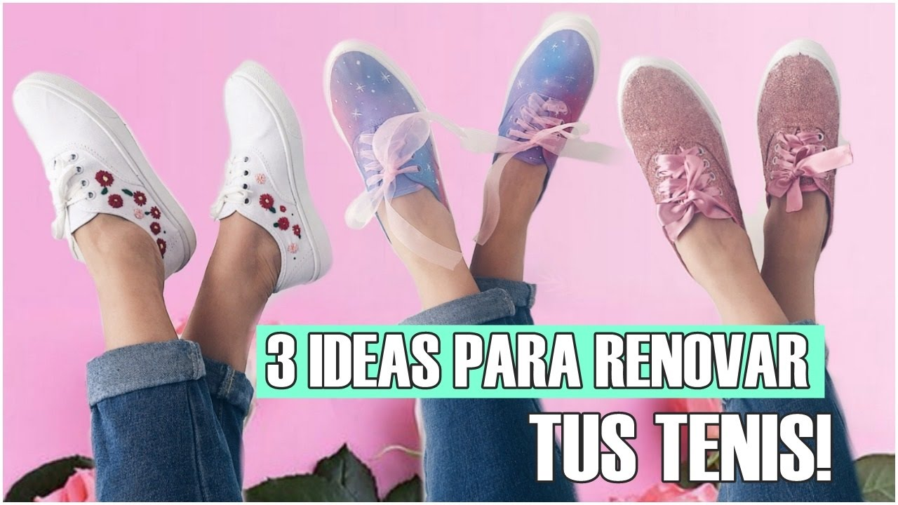 Ideas Decora 3 Tennis Zapatillas Diy Tus W2DEHIY9