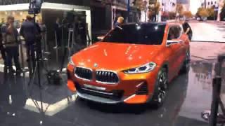 Bmw X2 Concept // Автовести Париж 2016 // Прямая Трансляция