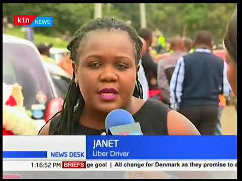 Little Cab, Uber, Taxify Drivers Demonstrate Against Poor Commissioning Pay  | KTN News Desk