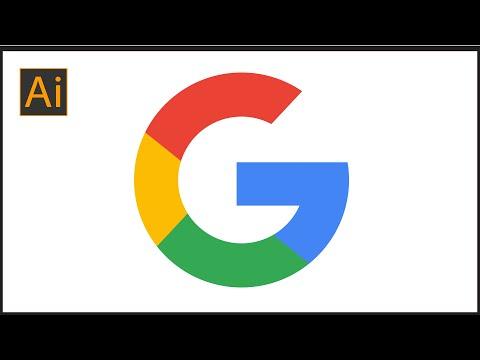 How to make a Google G Logo in illustrator ।। Logo Design Tutorial ।।