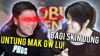 MAMI PROS MINTA SKIN SAMA SULTAN AUTO DIKASIH!?!? - Mobile Legends Indonesia #87 thumbnail