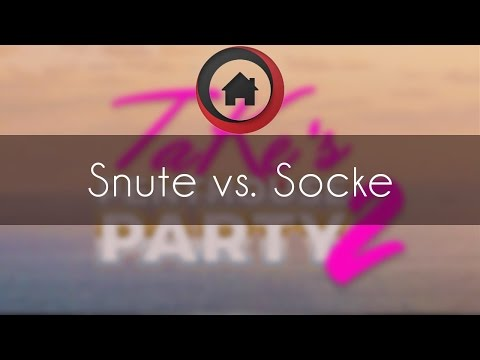 Snute vs. Socke - ZvP - TaKeTV's Penthouse Party 2 Day#1