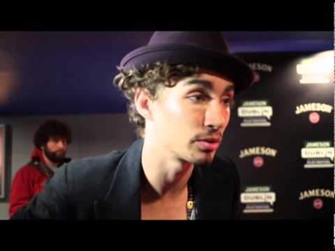 GOSS TV - Goss.ie talks to Robert Sheehan at the premiere of The Road Within