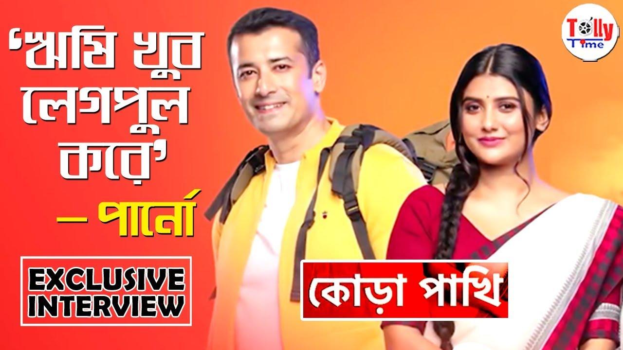 Rishi খুব লেগপুল করে: Parno Mittra   Exclusive Interview   Kora Pakhi   Star Jalsha