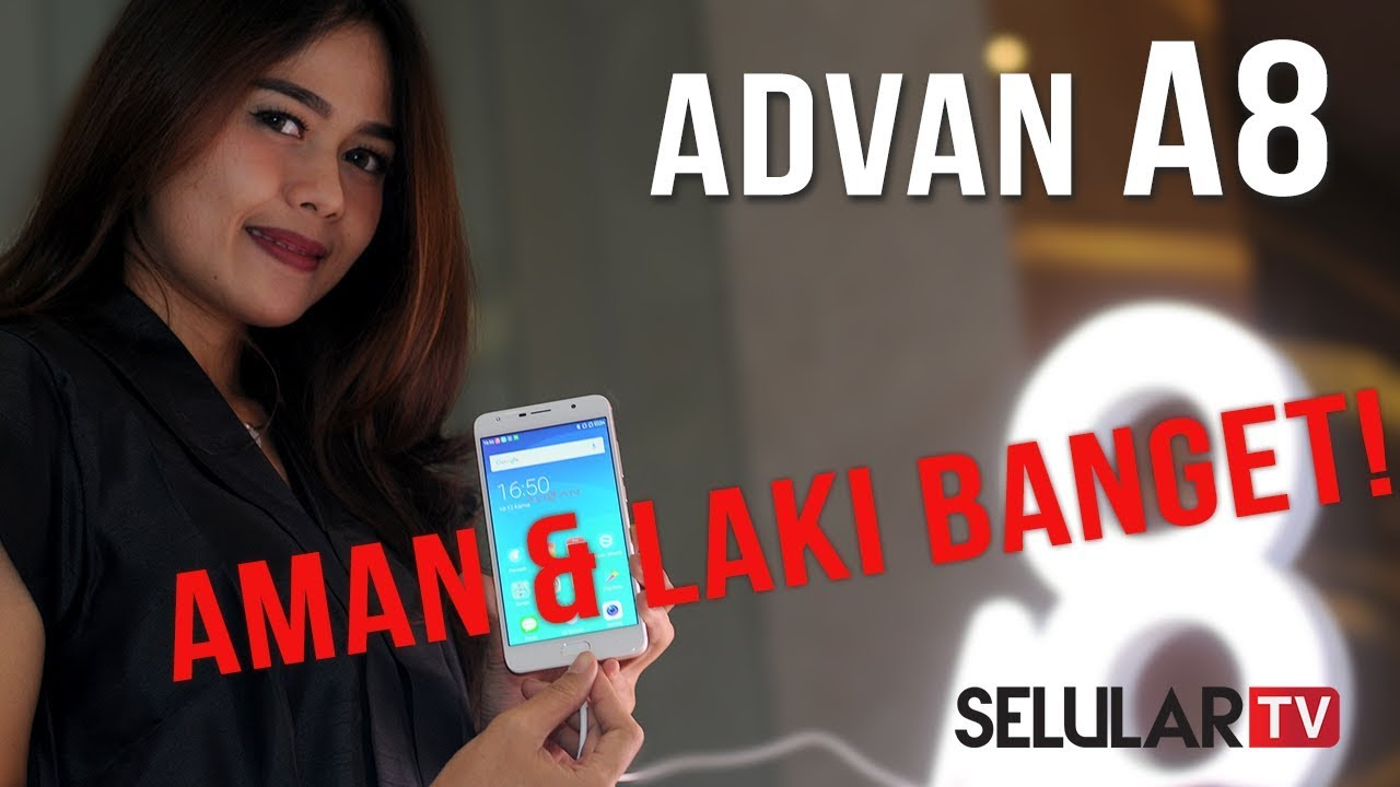 Advan A8 Smartphone Dengan Keamanan Berlapis