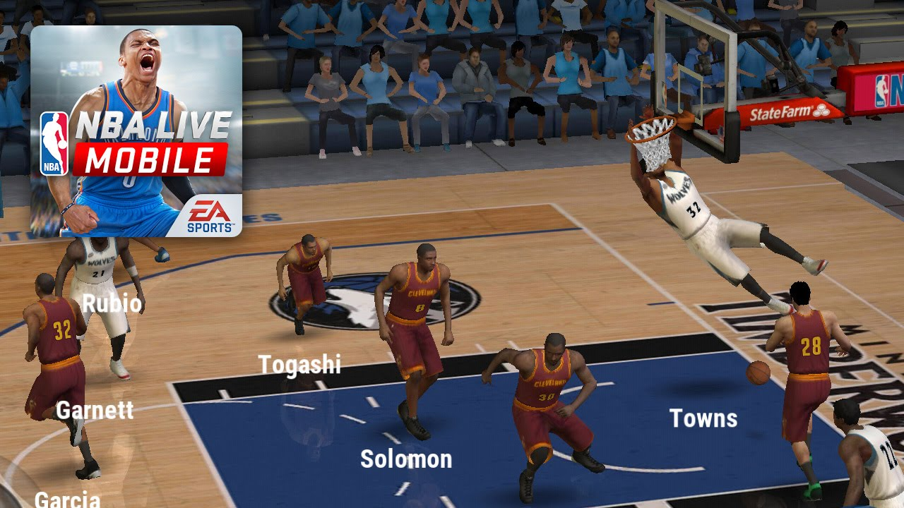 Image result for nba live mobile game