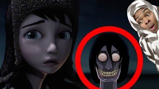 Reacting To True Story Scary Animations Part 4 (Do Not Watch Before Bed)