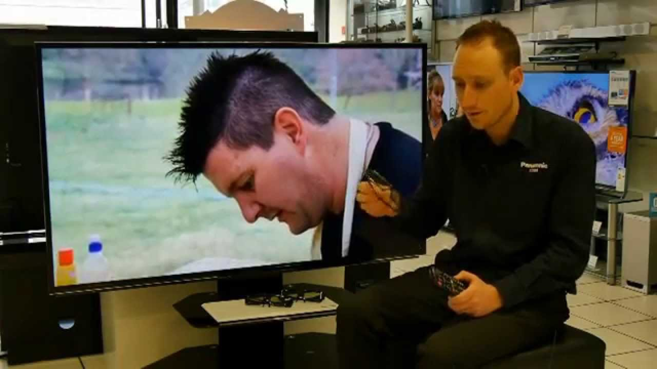 Panasonic 3D Glasses (How to pair them to the TV) - YouTube 6eb1a22b5f