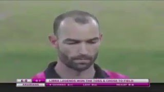Sehwag's First Ball SIX in MCL