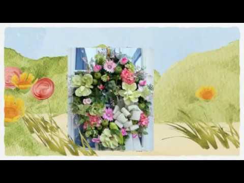Luxury Door Wreaths By Grace Monroe Home   Beautiful Wreath Ideas