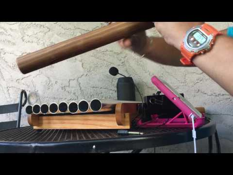 Living in A Pipe Dream improv using chimes and NA flute