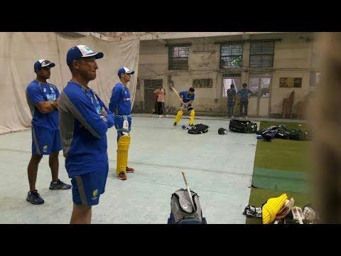 Watch: How are the Aussies secretly preparing themselves against Kuldeep Yadav in Kolkata?