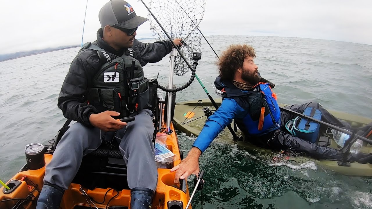Towing Kayaker Miles back to Shore