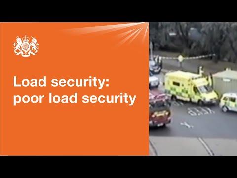 Load securing: vehicle operator guidance - GOV UK