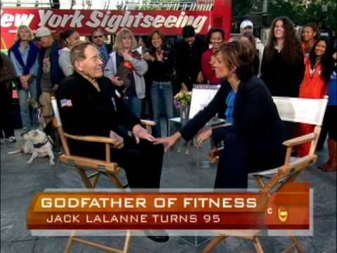 Jack LaLanne at Age 95