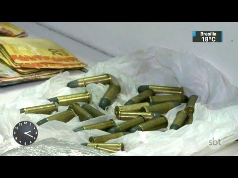 Suspeitos de integrar quadrilha de traficantes são presos no RS | SBT Notícias (16/03/18)