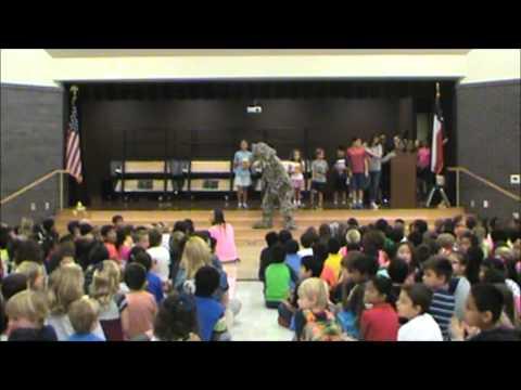Elsa England Elementary School Spirit Assembly - The Start of the Year - September 15, 2014