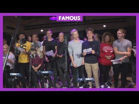YouTubers zingen lied voor Sint-Maarten