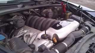 видео Porsche Cayenne Turbo - стук в двигателе