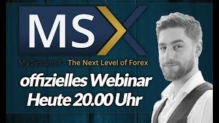 Offizielles MySystemX Webinar September 18