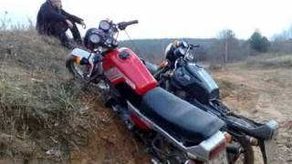 Extreme Deleted Scenes ява минск стант jawa minsk stunt