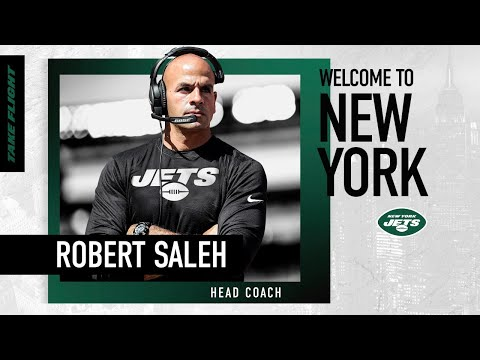 Robert Saleh Introductory Press Conference | New York Jets | NFL