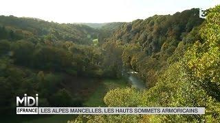 VU D'ICI : Les Alpes Mancelles, les hauts massifs armoricains