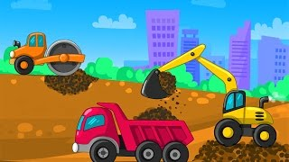 Мультик для детей Строительство и рабочие машинки Приключения Андре Новые Мультфильмы Осень 2016