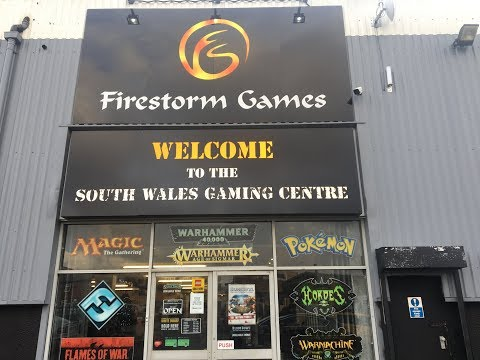The world's best gaming store - Firestorm Games, Cardiff