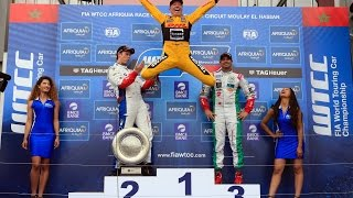 Booom! Victory in Marrakech for Tom Coronel FIA WTCC 2016 Morocco